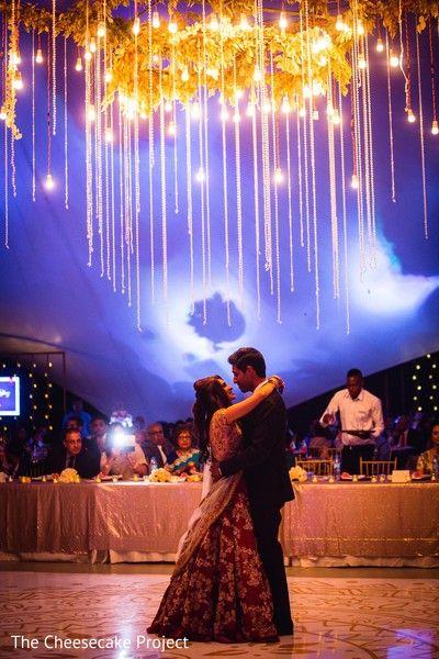 Dreamy Indian Wedding Reception Http Www