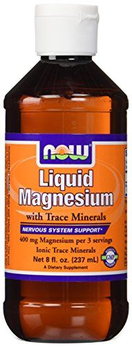 Now Foods Liquid Magnesium with Trace Mineral, 8 Ounce *** You can get more details by clicking on the image.