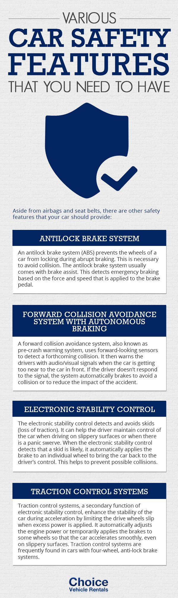#infographic: Various Car Safety Features That You Need To Have