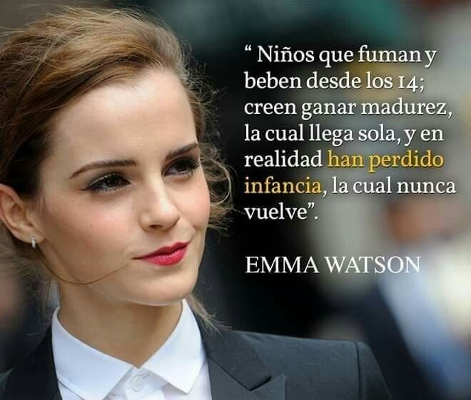 Frases de Emma Watson, Inteligente y Hermosa mujer.