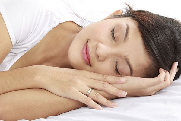 young female sleeping