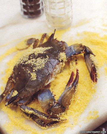 Cornmeal Crusted Soft-Shell Crabs | Recipe