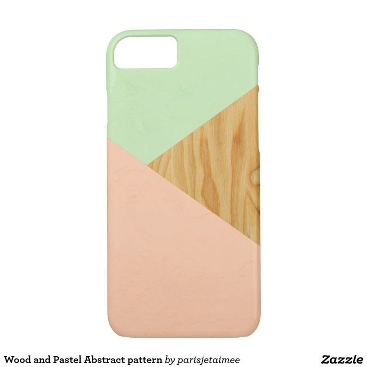 #woodandpastelabstract #wood #pastel #abstract #design #graphics #iphone7 #iphonecase Wood and Pastel Abstract pattern iPhone 7 Case