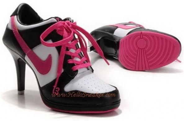 Buy Women's Nike Dunk High Heels Low Shoes Black/White/Pink Copuon Code  from Reliable Women's Nike Dunk High Heels Low Shoes Black/White/Pink  Copuon Code ...