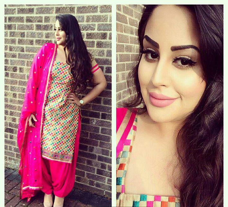 42 besten patiyala suits Bilder auf Pinterest | Designer panjabi ...