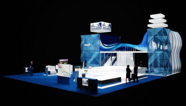 Стенд для выставки в Дубаи