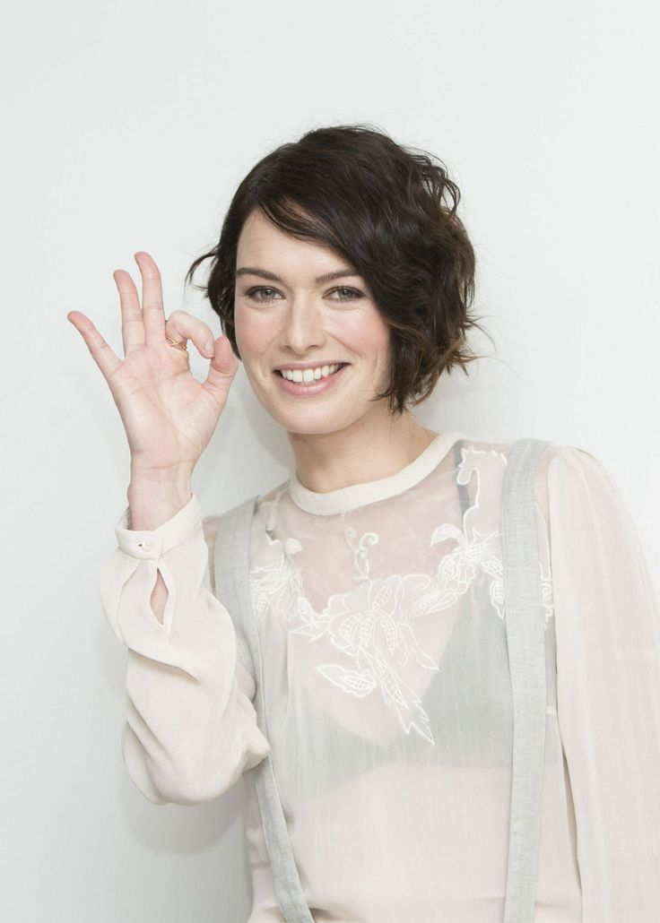 LENA HEADEY at 300: Rise of an Empire Press Conference at the Four ...
