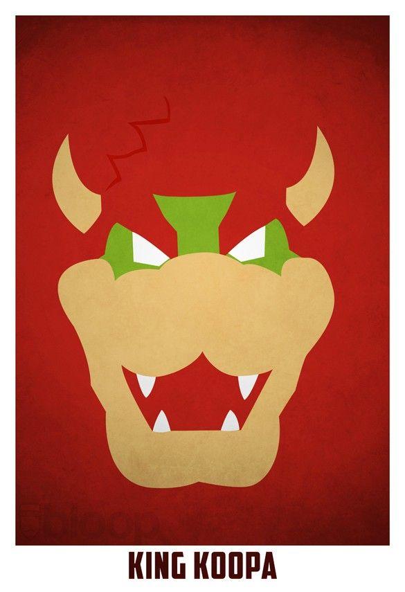King Koopa #mariobrothers