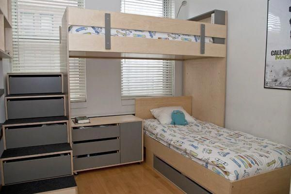 100 Space Saving Small Bedroom Ideas Housely Beds For Small Rooms Loft Bunk Beds L Shaped Bunk Beds