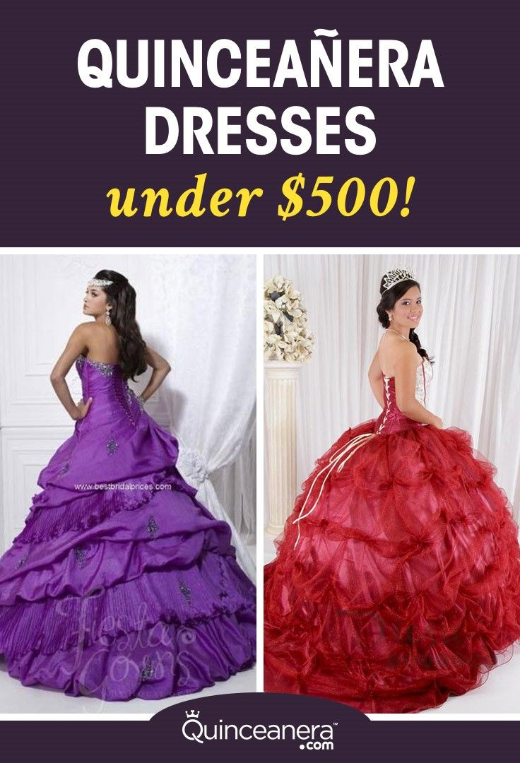 Although all of these cheap Quinceanera dresses are under $500 they will have you looking like a million dollars' worth.