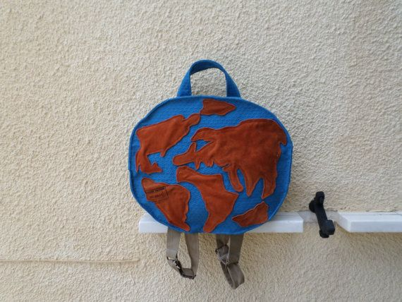 The Globe Bag by MariasHappyThoughts on Etsy
