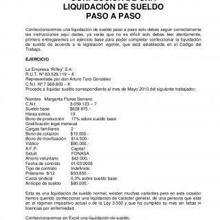 CONFECCIÓN DE UNA LIQUIDACIÓN DE SUELDO PASO A PASO Confeccionaremos una liquidación de sueldo paso a paso solo debes seguir correctamente las instrucciones. http://slidehot.com/resources/confeccion-de-una-liquidacion-de-sueldo.51794/