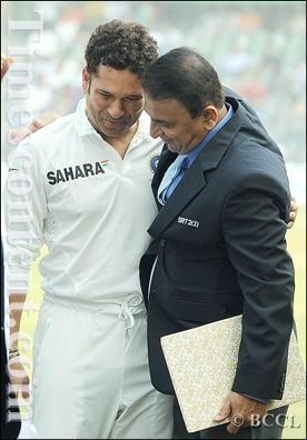 #Gavaskar & #Sachin
