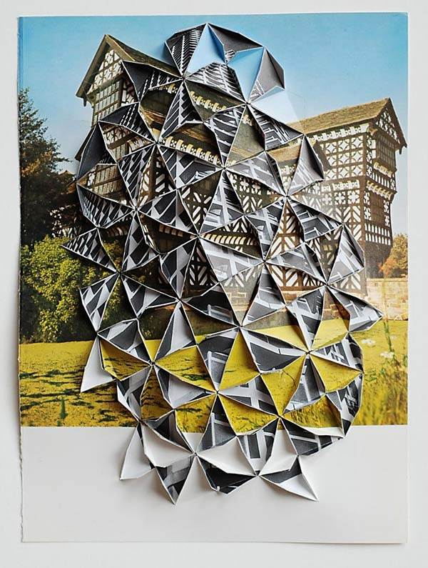 Paper manipulation by Abigail Reynolds, lovely.