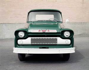 Pictures of Vintage GMC Pickup Trucks: 1958 GMC Pickup Truck