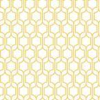 Trellis Wallpaper, Marigold