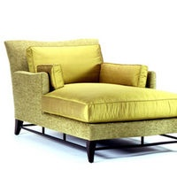 Donghia Victoire Chaise: Sit Back And Play That Song