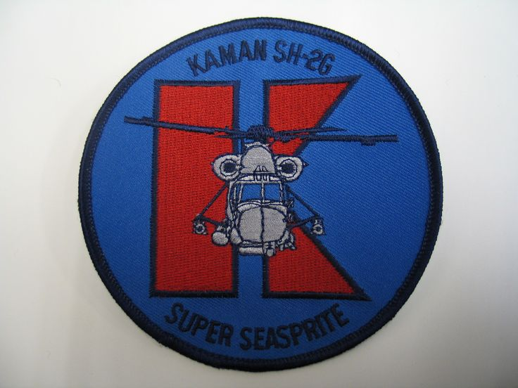 Kaman SH-2G Super Seasprite badge. From the collection of the Air Force Museum of New Zealand.