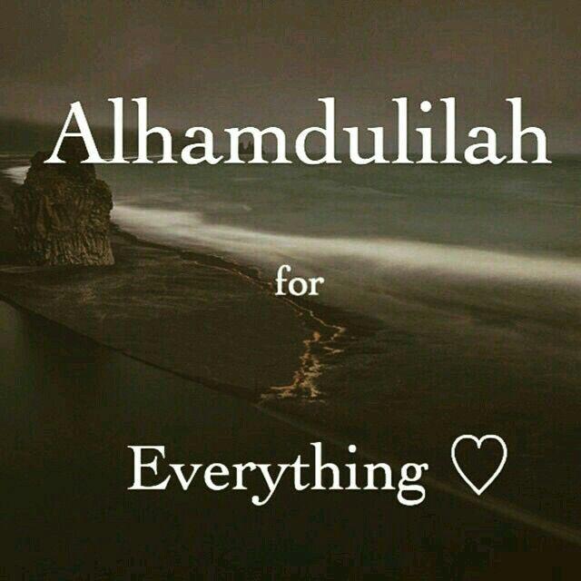 say Alhamdulillahb setiap saat