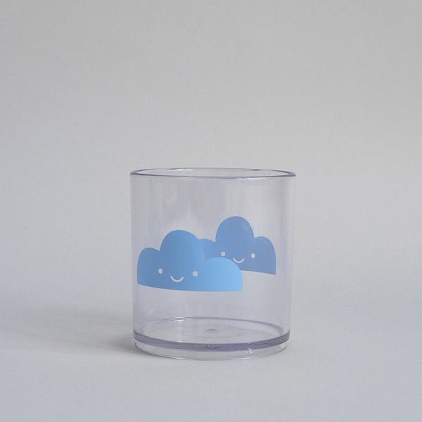 Happy Cloud Tumbler - Blue - Oh Happy Fry  - 1