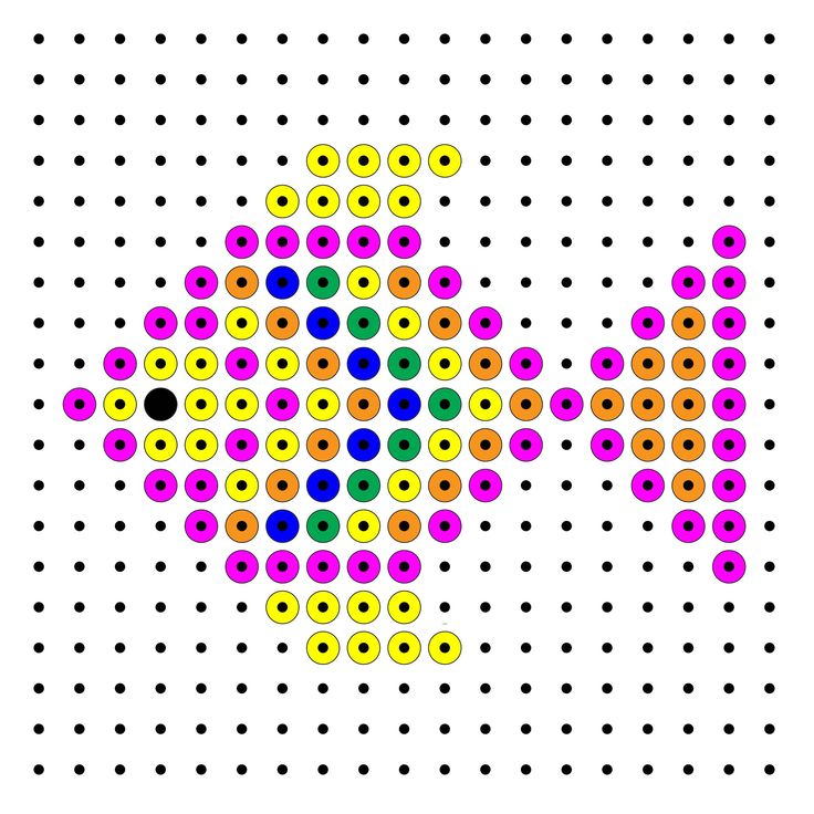 Fish perler bead pattern