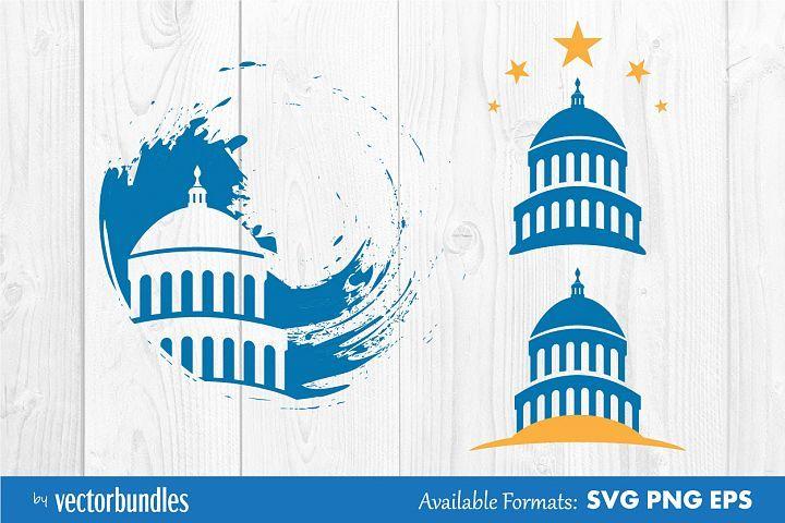 Capitol Building Clip Art 416587 Svgs Design Bundles Clip Art Capitol Building Illustration Design