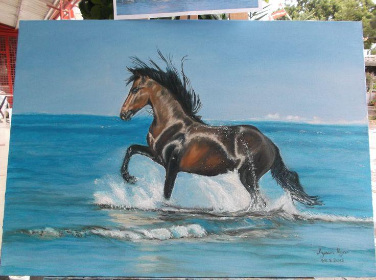 50 70 yağlı boya tablo