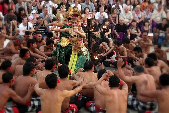 Kecak (Monkey Dance) Bali.