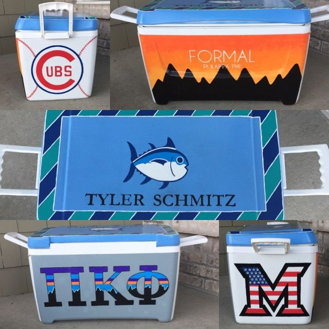 formal cooler, patagonia, pi kapps, pi kappa phi, Tennessee, Miami university, Cubs, southern tide, frat formal, mountain, Gatlinburg Tennessee, American flag