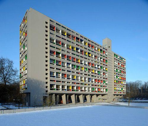 Maison La Radieuse, Nantes- Le Corbusier