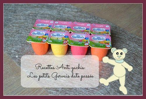 Recettes anti gaspillage Petits Gervais/Petits filous Muffins banane chocolat et Amandes