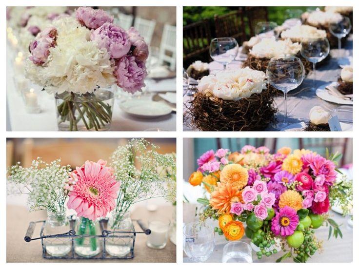 centros de mesas originales boda ideas decoracin