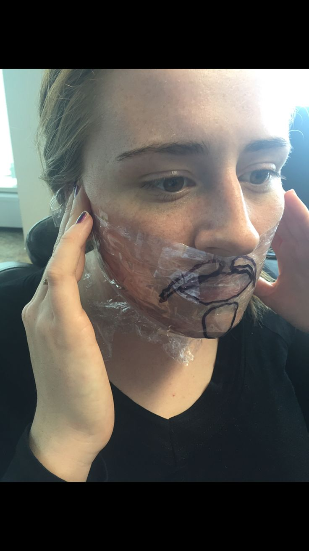 Model wanted facial
