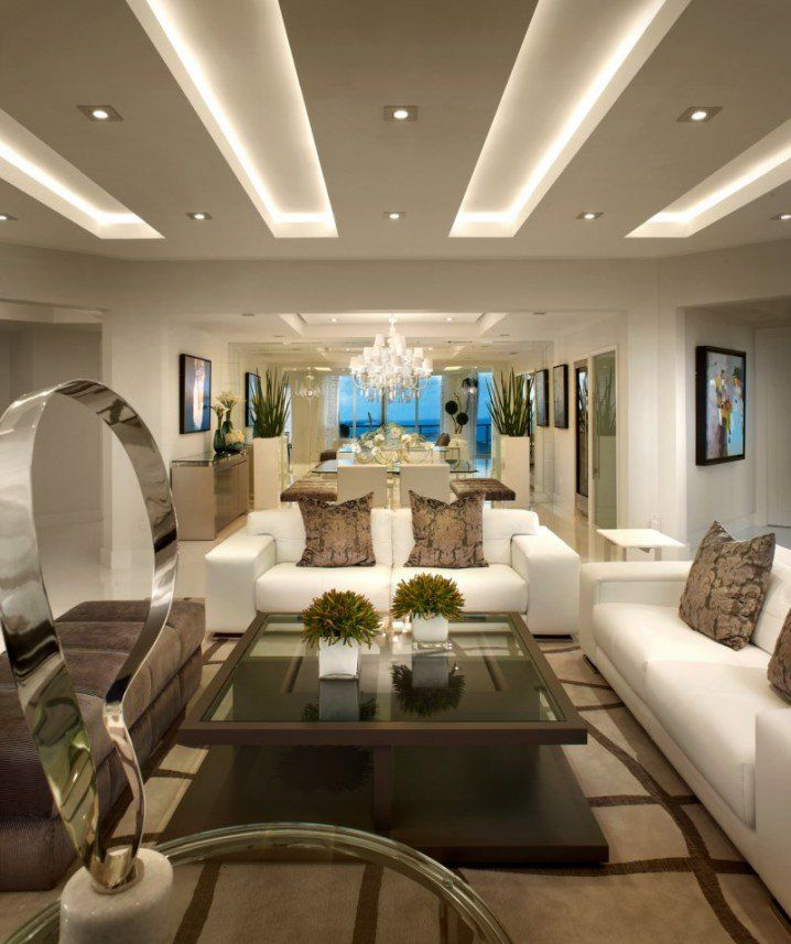 Light Filled Contemporary Living Rooms: 25+ Best Ideas About Modern Ceiling Design On Pinterest