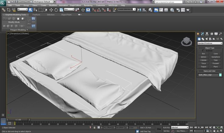 3ds Max Tutorial|Realistic Interiors with Marvelous Designer|Bedsheet & ...