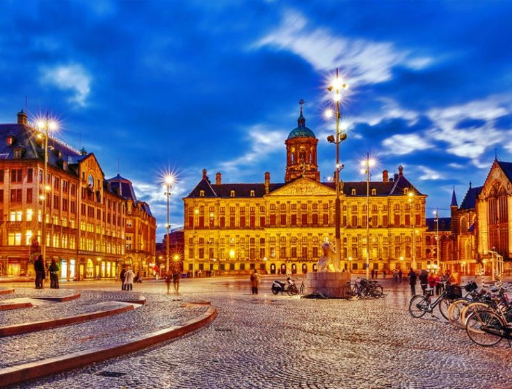 Beautiful View of Royal Palace in Amsterdam on the Dam Square | TOP 10 Tourist Attractions in Amsterdam You Need to Visit