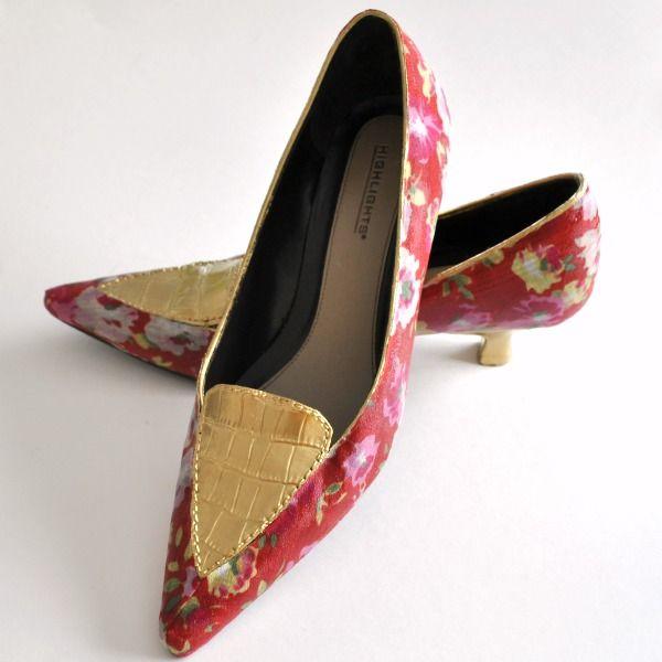 Liquid Leaf Shoe Revamp | Tasha Delrae