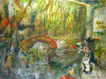 "Saatchi Art Artist Manlio Rondoni; Painting, ""il bosco"" #art"