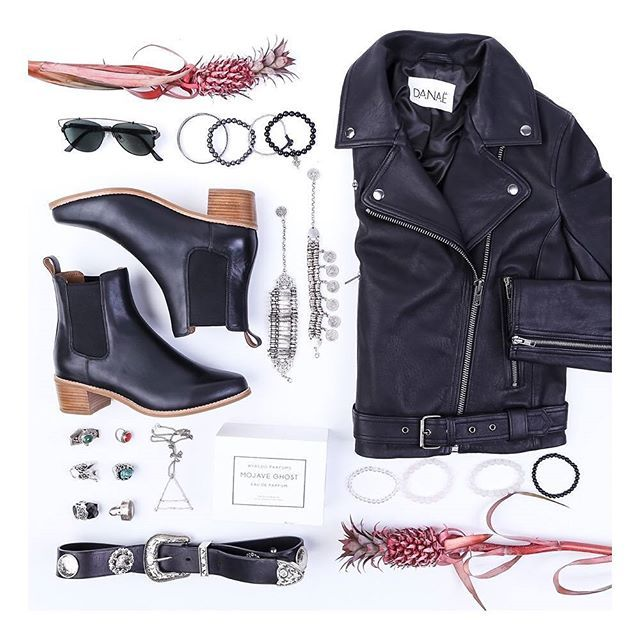 Weekend essentials⭐️⭐️⭐️Ft. Our black 'Cardinal' boot teamed with @danaethelabel leather jacket