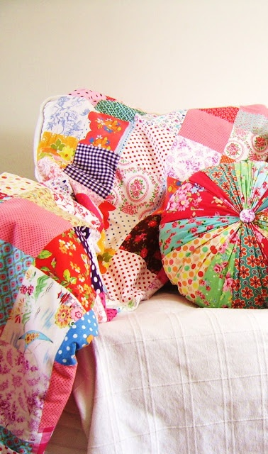 round cushion tutorial