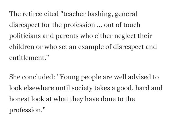 why do people choose the teaching profession New teachers are quitting at an alarming rate  few would disagree that we've  got to recruit talented people into the teaching profession, but once  it's difficult  to see why many young teachers would choose to stick it out.