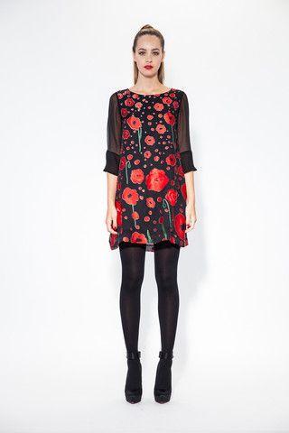 Trelise Cooper Tall Poppy Dress - Perfect Winter Wedding look