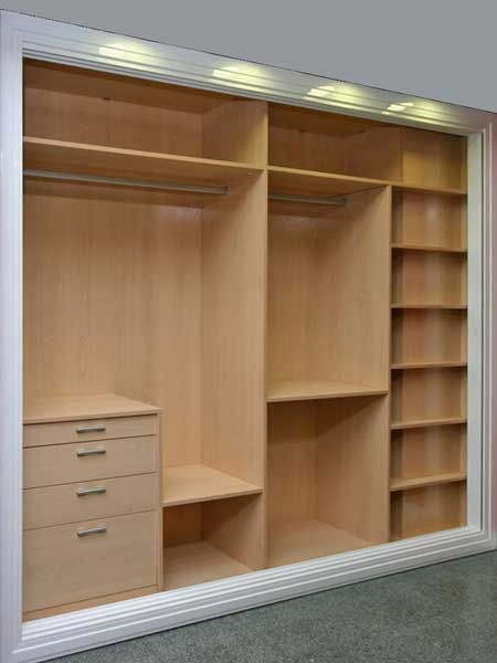 Interiores armarios empotrados a medida lolamados for Closets interiores