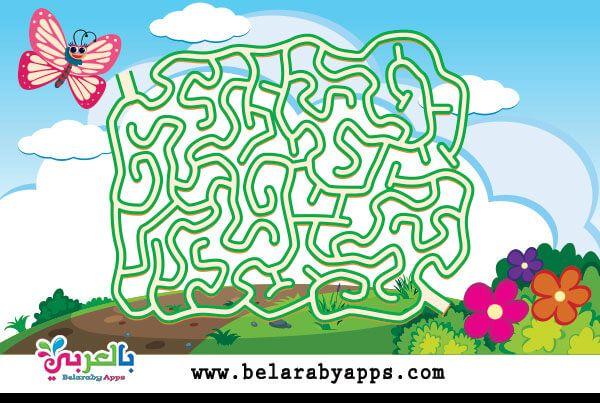 العاب متاهات صعبة العاب ذكاء صعبة جدا للاذكياء 2020 بالعربي نتعلم Mazes For Kids Find The Difference Pictures Children Illustration