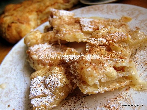 Lenten Bougatsa me Krema - Kalofagas - Greek Food & Beyond