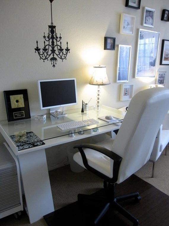 Minimalist Cozy Home Office Design Ideas #homeoffice