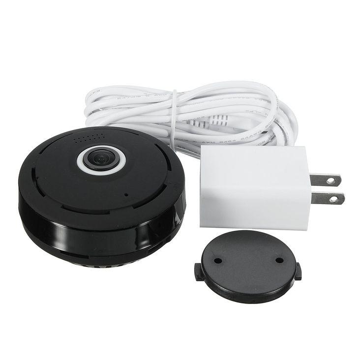 Mini 360 Degree Wireless IP Camera 1080P HD Panoramic Two Way Audio Wifi