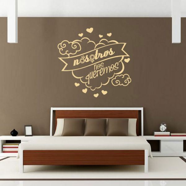 27 best images about quiero decorar mi dormitorio on pinterest for Vinilos frases habitacion