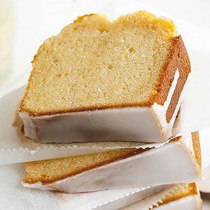 Vanilla and Sparkling Wine Pound Cake