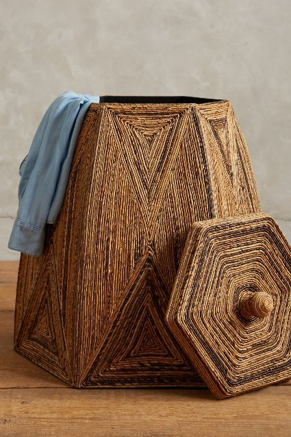 Taman Laundry Basket #anthroregistry